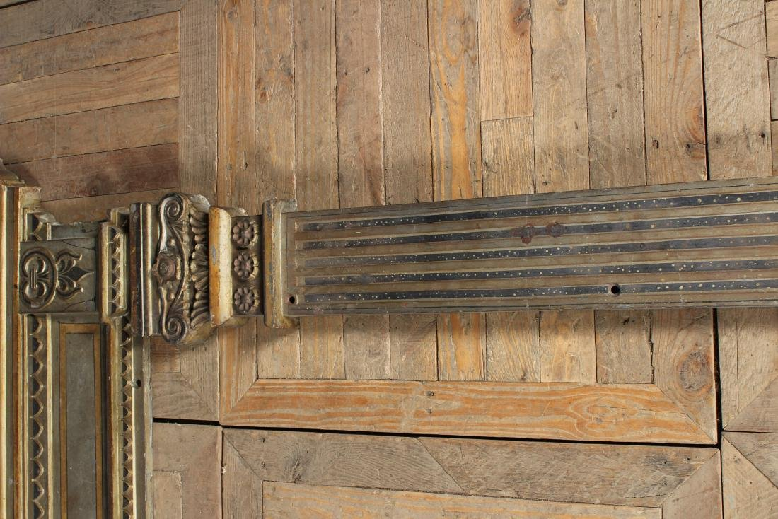 Late 19th C American Cast Iron Door Surround - 3