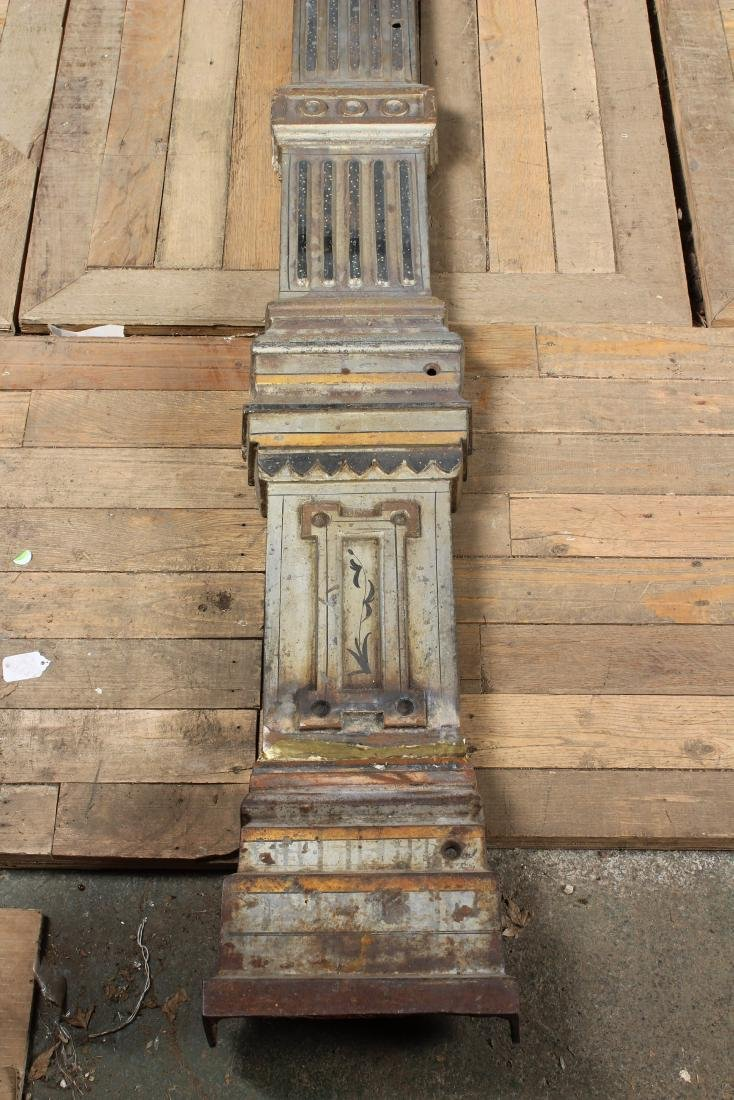 Late 19th C American Cast Iron Door Surround - 5
