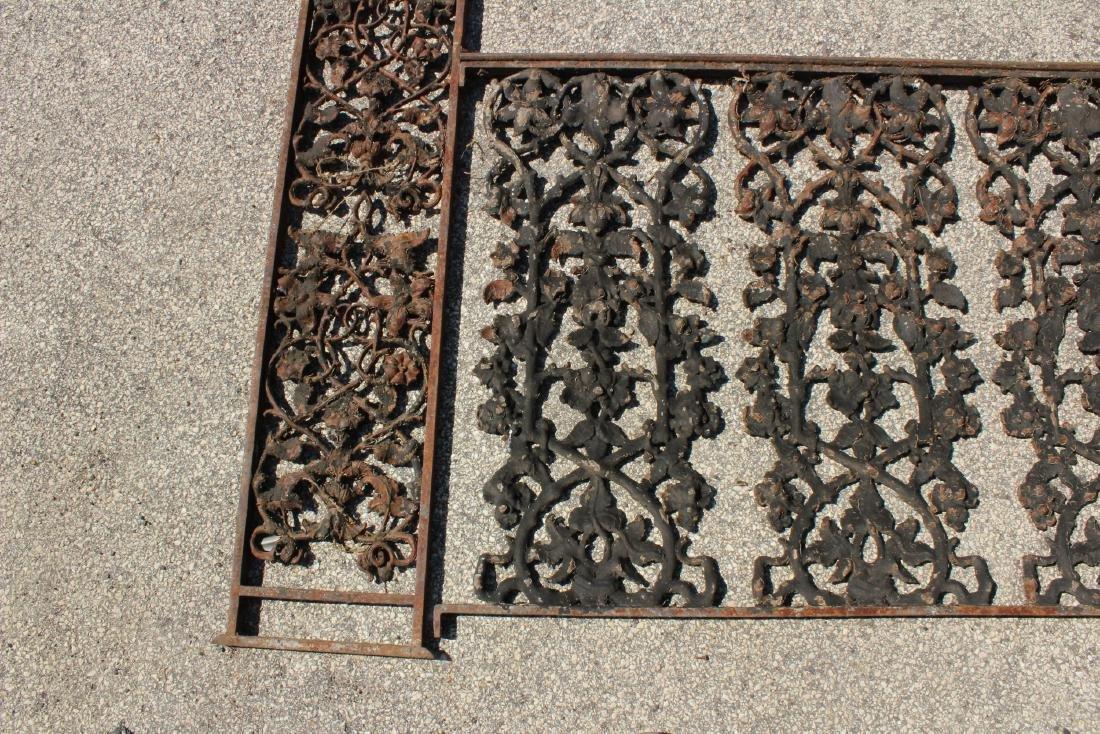 American Victorian Cast Iron Porch Surround - 2