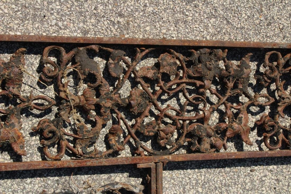 American Victorian Cast Iron Porch Surround - 3