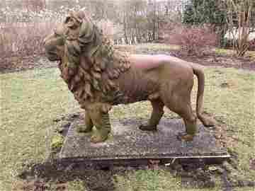 Robert Wood Philadelphia Cast Iron Lion