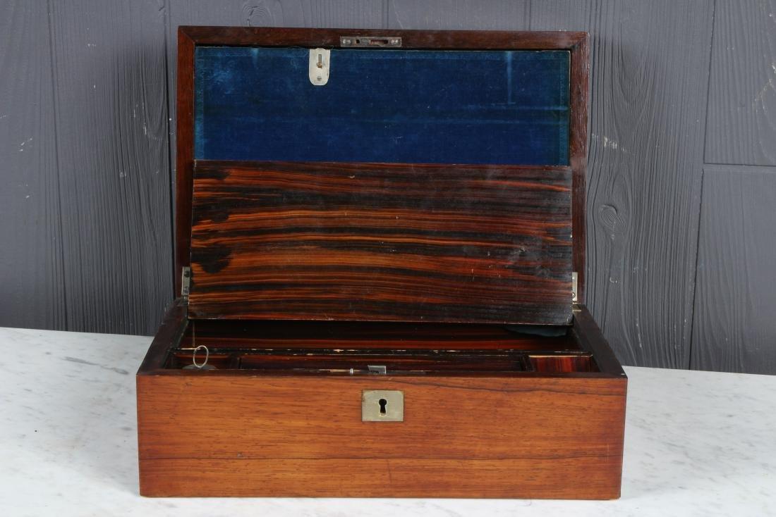 Antique Inlaid Lap Desk - 2