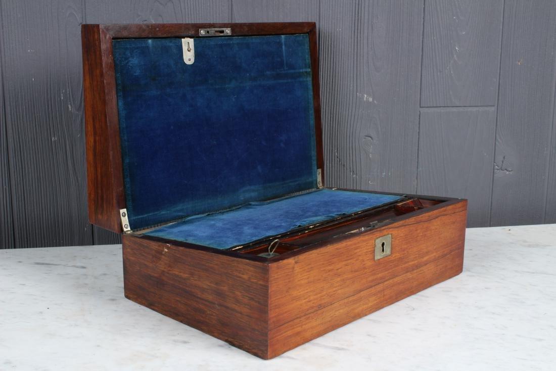 Antique Inlaid Lap Desk - 4