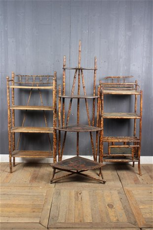 Vintage Bamboo Cabinets & Case Pieces for Sale & Antique