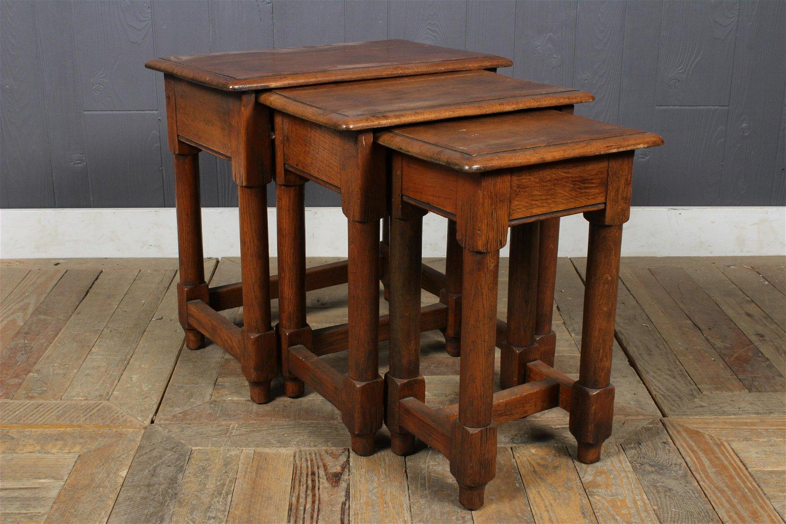 English Nesting Tables