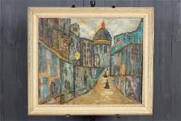 Vintage French School Plein Air Painting