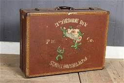 Hand Painted 11th Airborne Division Valise