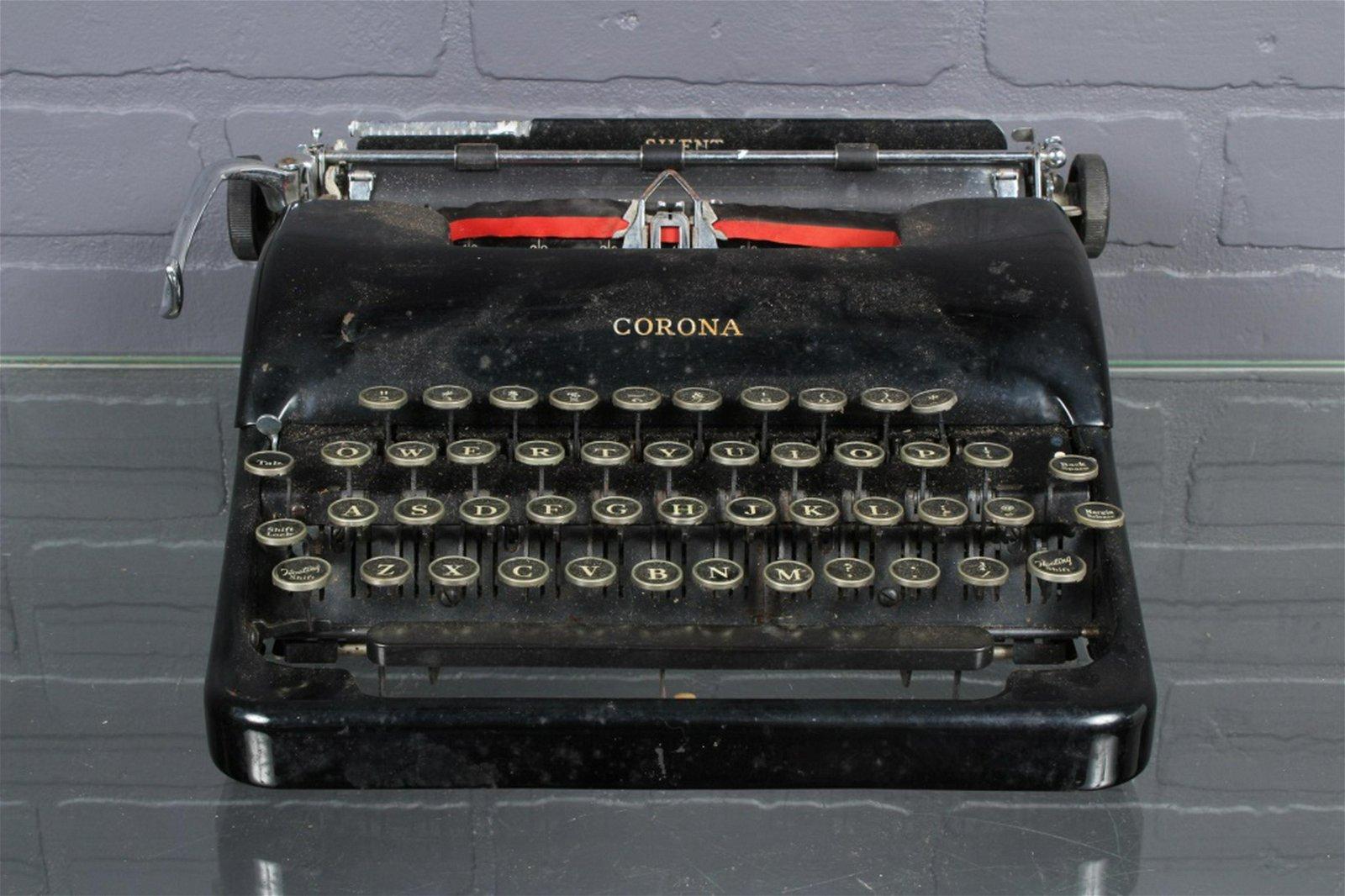 LC Smith and Corona Typewriter