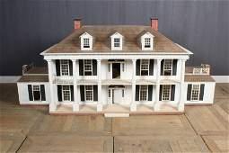 Vintage Georgian Revival Doll House