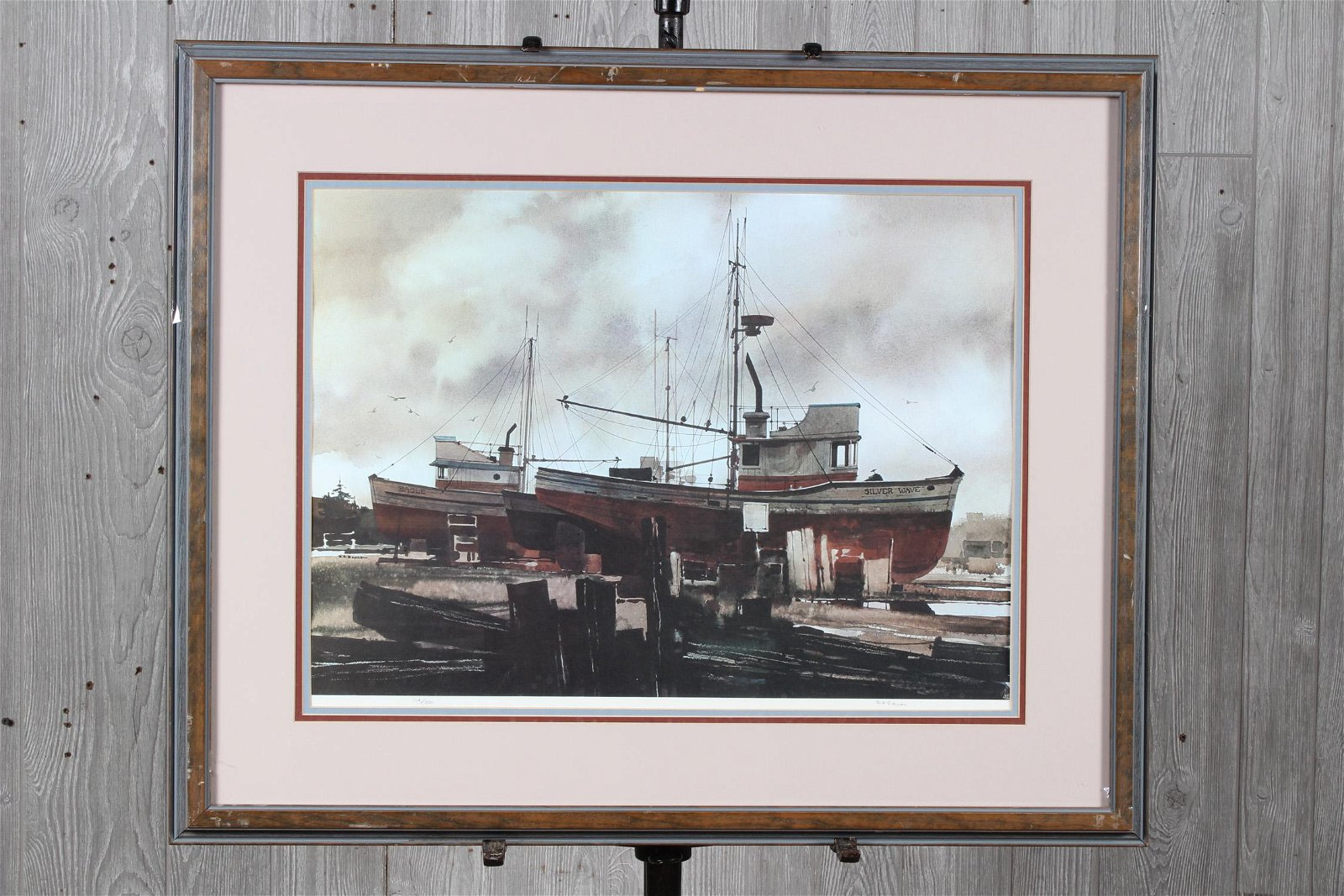 Ritchie Allen Benson Signed Limited Ed Lithograph