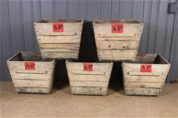 5 Champagne Harvest Crates