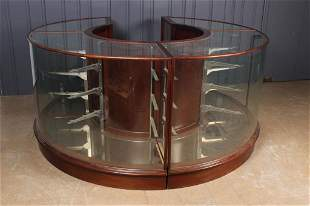 Bespoke English Oak and Glass Display Case