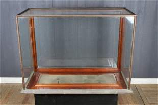 Very Good Bronze and Glass Display Case