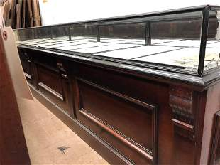 Continental Raised Panel Jewelry Store Case