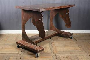 Studio Made Horse Tack Display Table