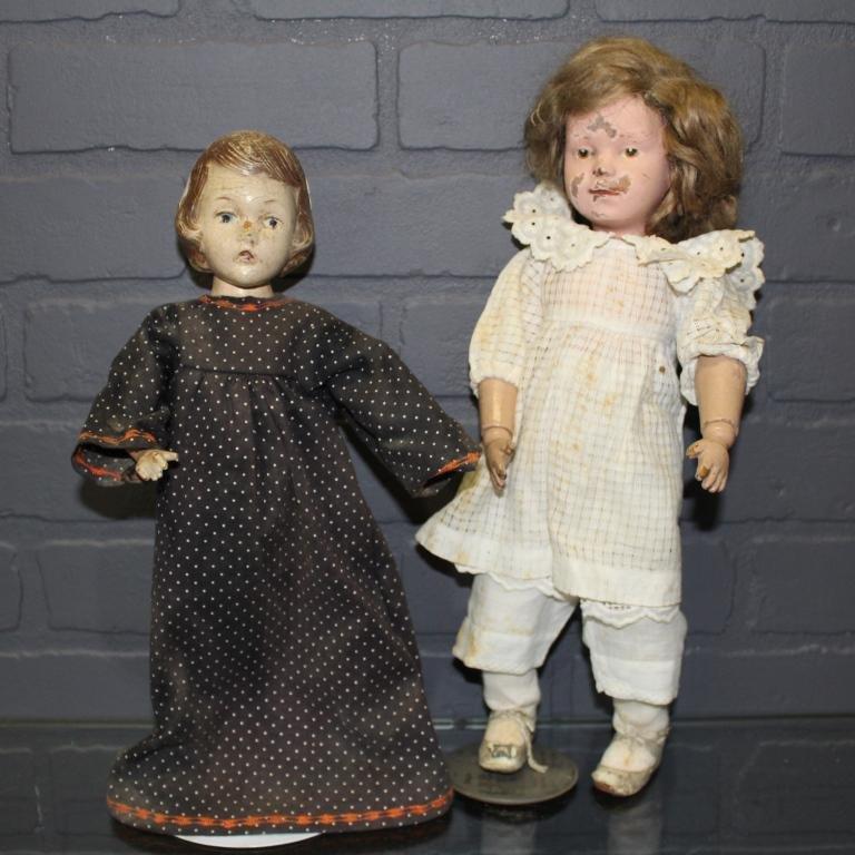 Schoenhut Doll and Alexander Wendy-Ann Doll