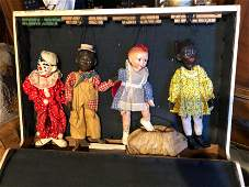 Four Piece collection of Marionettes