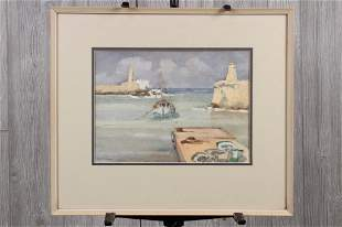 EMC Trench Seascape Watercolor