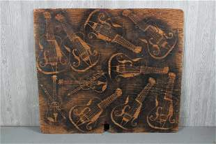 Luthiers Stenciled Board