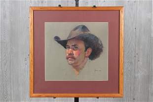 Ben Konis Pastel Portrait