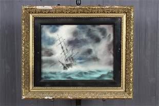 Charles De Carlo New England 20th C Watercolor