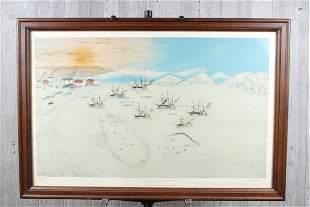 John Bertonccini Limited Edition Whaling Print