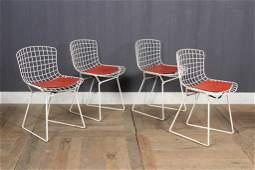 4 Harry Bertoia Child Size Chairs