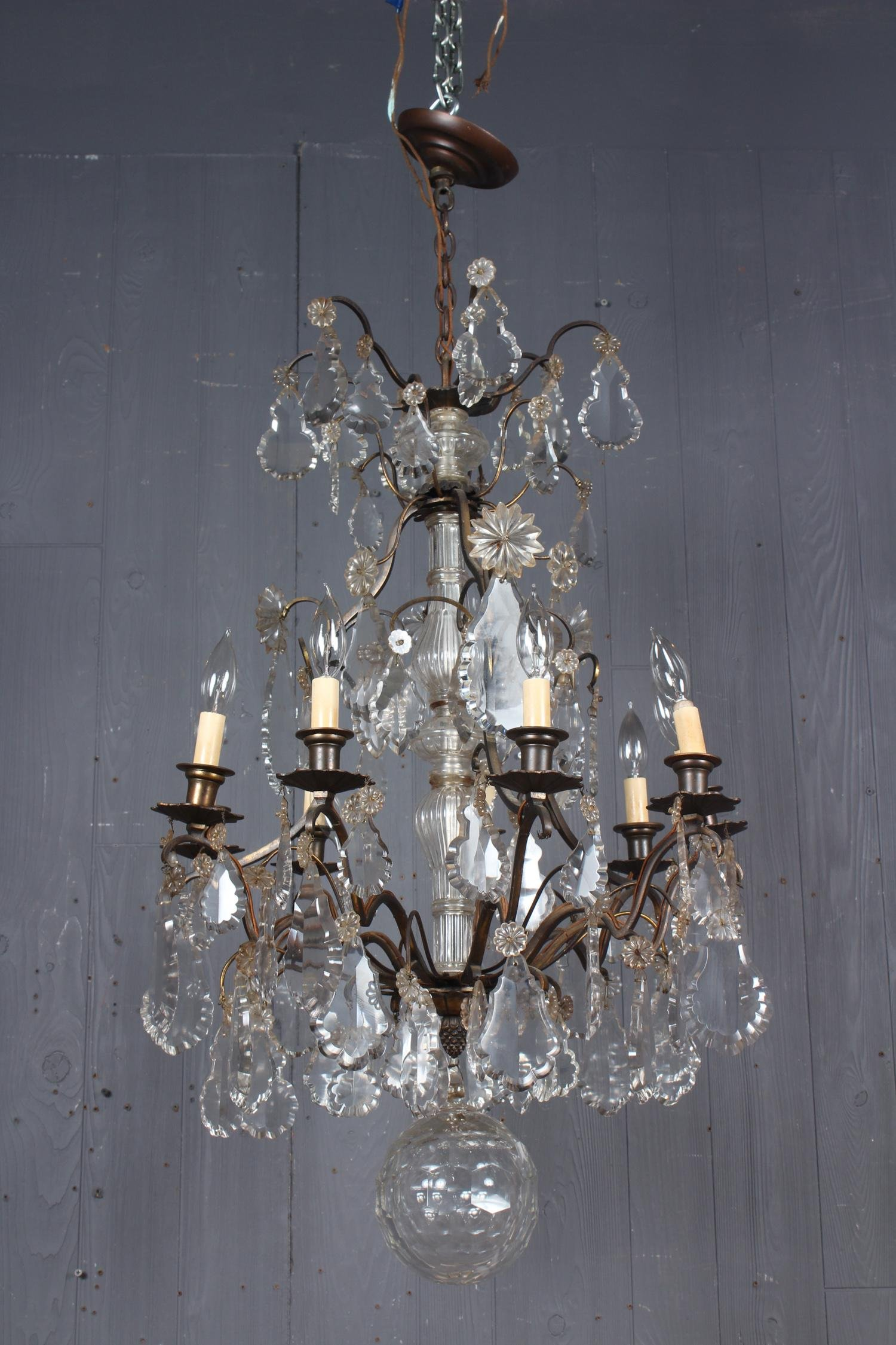 French Louis XV Style Chandelier