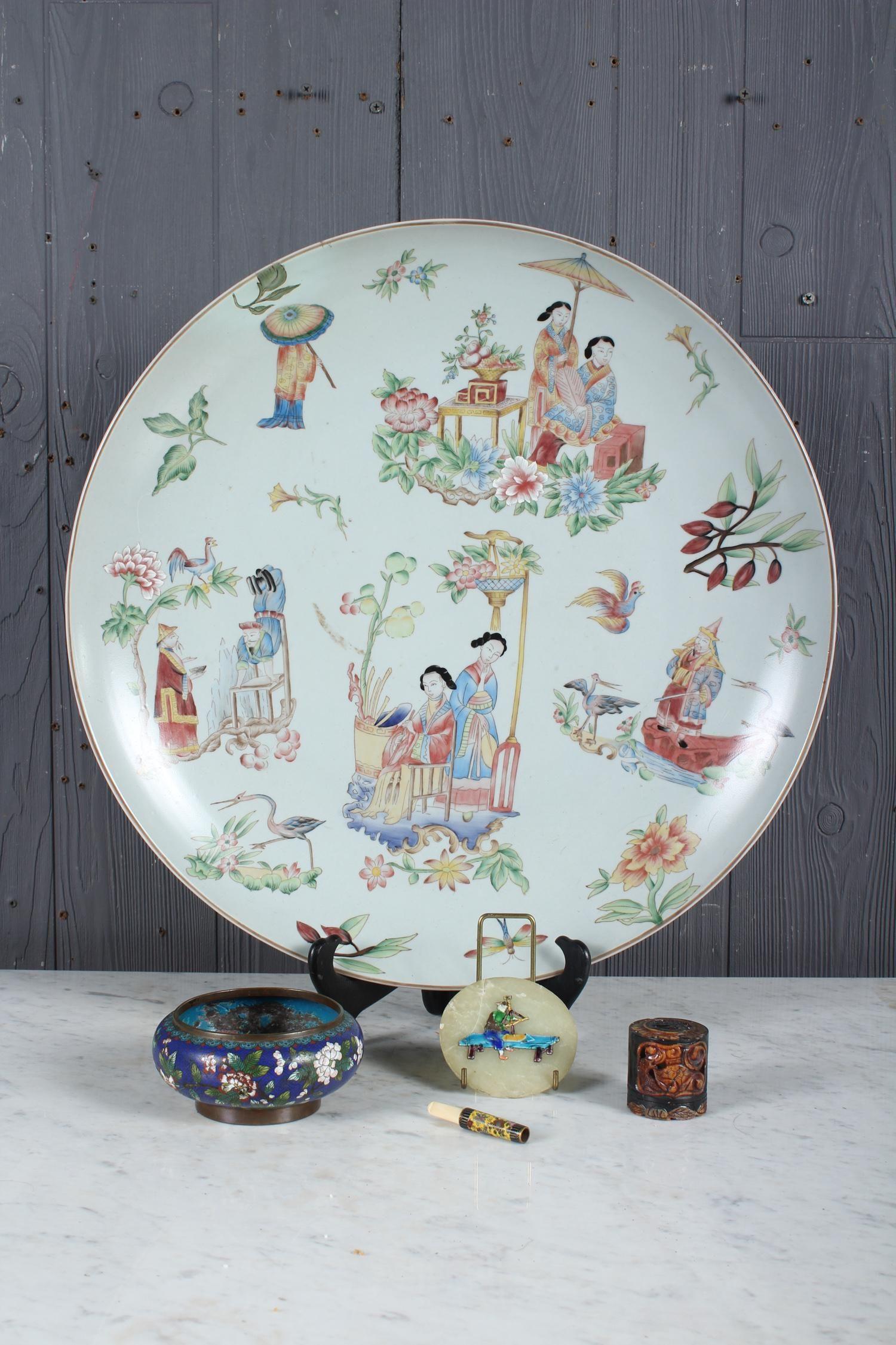5 pc Decorator's Lot of Asian Bibelots