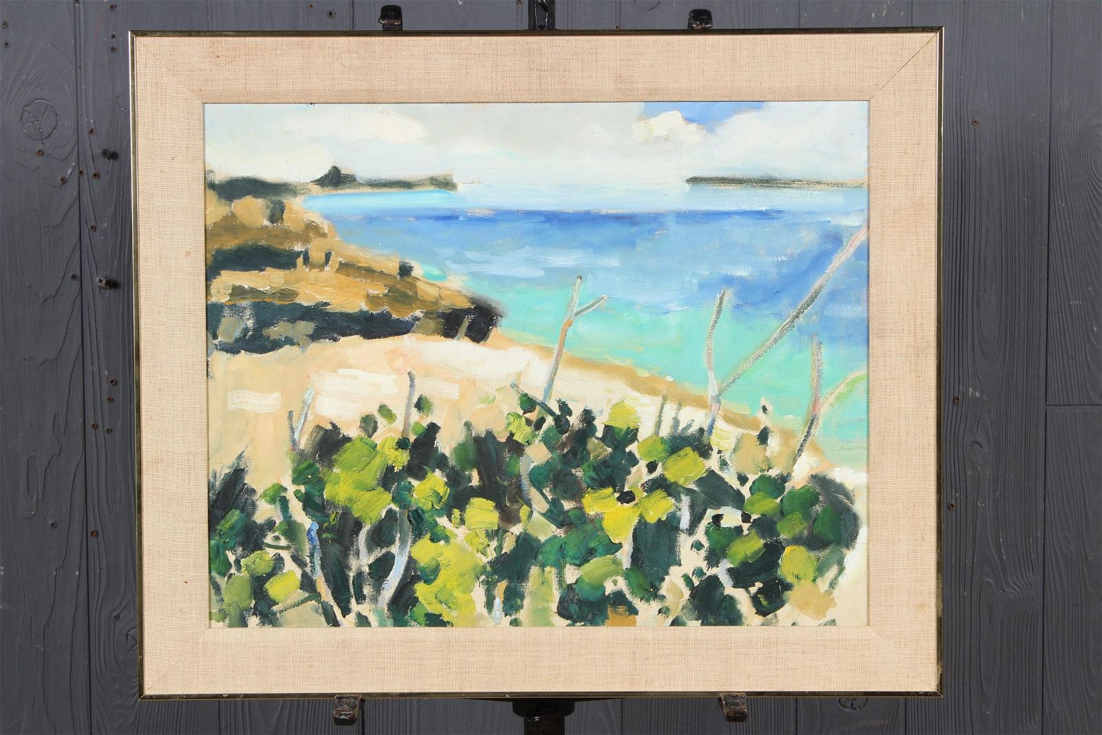 Seascape Attributed to Paul Arsenault
