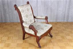 Late 19th C American Victorian Armchair