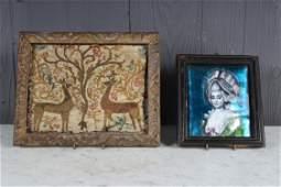 Decorator's Lot of 2 Framed Works
