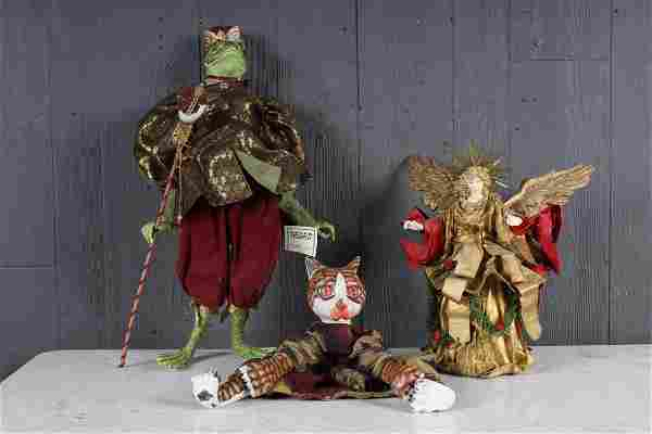Decorator's Lot of 3 Puppets