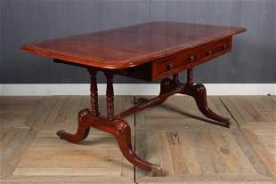 th C George III Style Sofa Table
