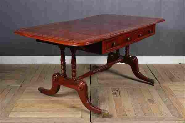 19th C George III Style Sofa Table