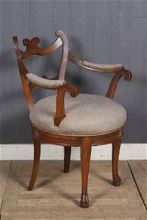 Empire Style Lady's Armchair