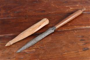 Wootz Dagger