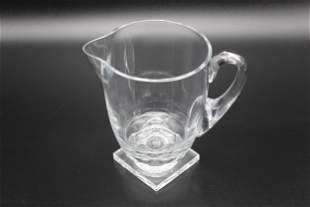 Lalique Argos Crystal Pitcher