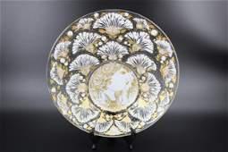 Rosenthal Bjorn Wiinblad Glass Bowl