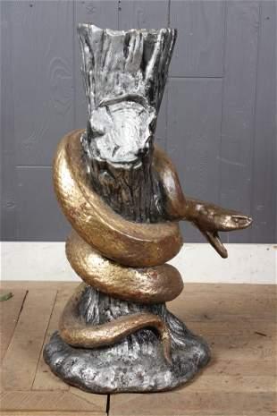 Cast Iron Snake Fountainhead