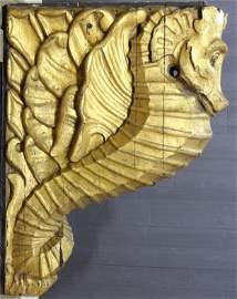 Gilt Carved Figurehead