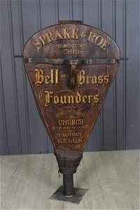 Rare Bell Foundry Bellows