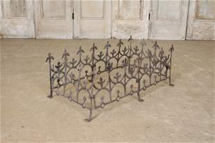 Antique Gothic Style Iron Chimney or Roof Cresting