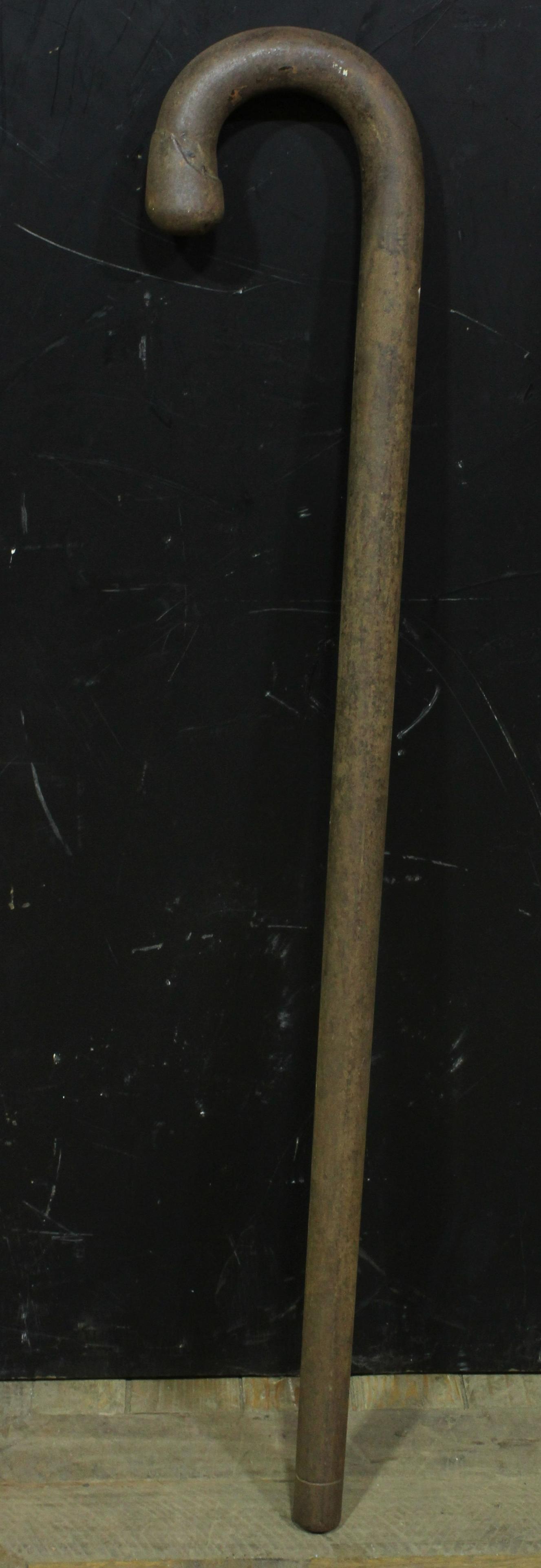 Cast Iron Advertising Trade Stimulator Cane