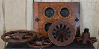5 Pc Small Industrial Mold Lot