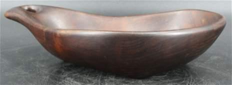 Wharton Esherick Carved Bowl