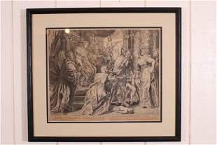 Danckert Aft Rubens The Judgement of King Solomon