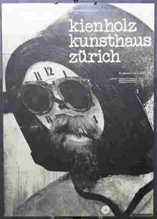 Kunsthaus Zurich Edward Keinholz Exhibition Poster