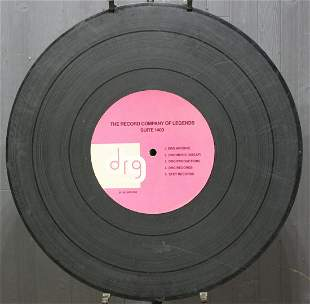 """35"""" Drg Records Company Office Directory Sign"""