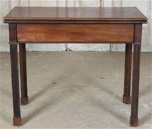 English George III Style Games Table